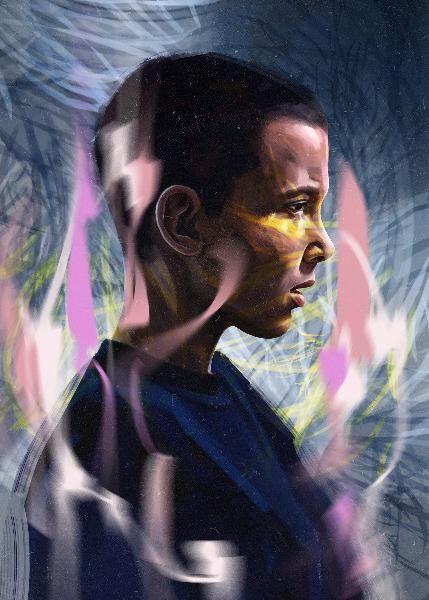 Oil Paint Movie Poster - Dbelov