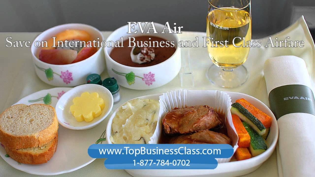 Eva Airlines Business Class and First Class Flights www