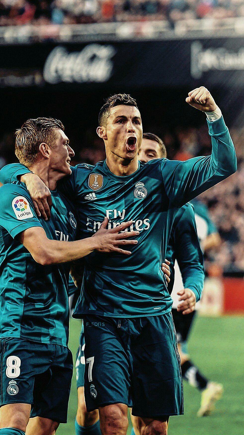 Ronaldo & Kroos #futbolronaldo