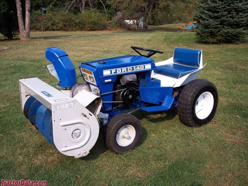 Ford 140 Front Mounted Snow Blower Tractor Photos