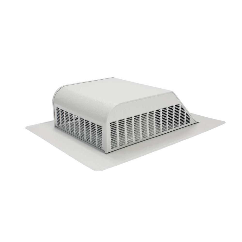 Air Vent 50 Sq In Nfa Aluminum Slant Back Roof Louver Static Vent In Gray Sold In Carton Of 6 Only Slagr In 2020 Air Vent Vented Roof