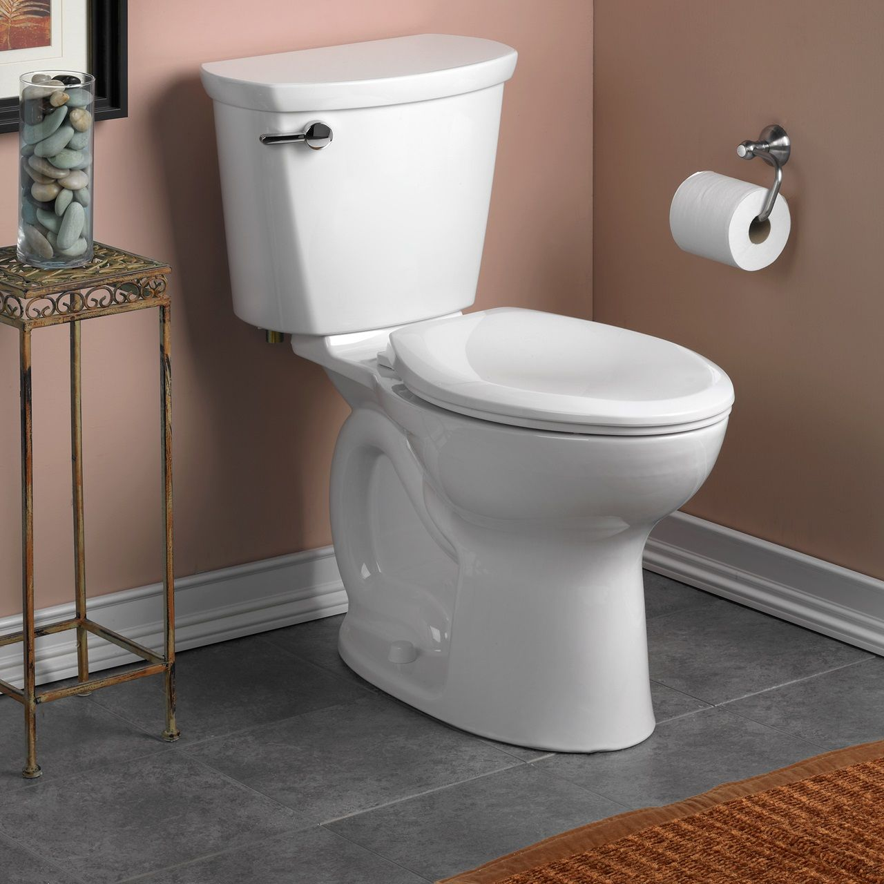 Toilets Cadet Pro Right Height Elongated 10 Inch Rough In 1 28 Gpf Toilet White Toilet Tank American Standard Toilet