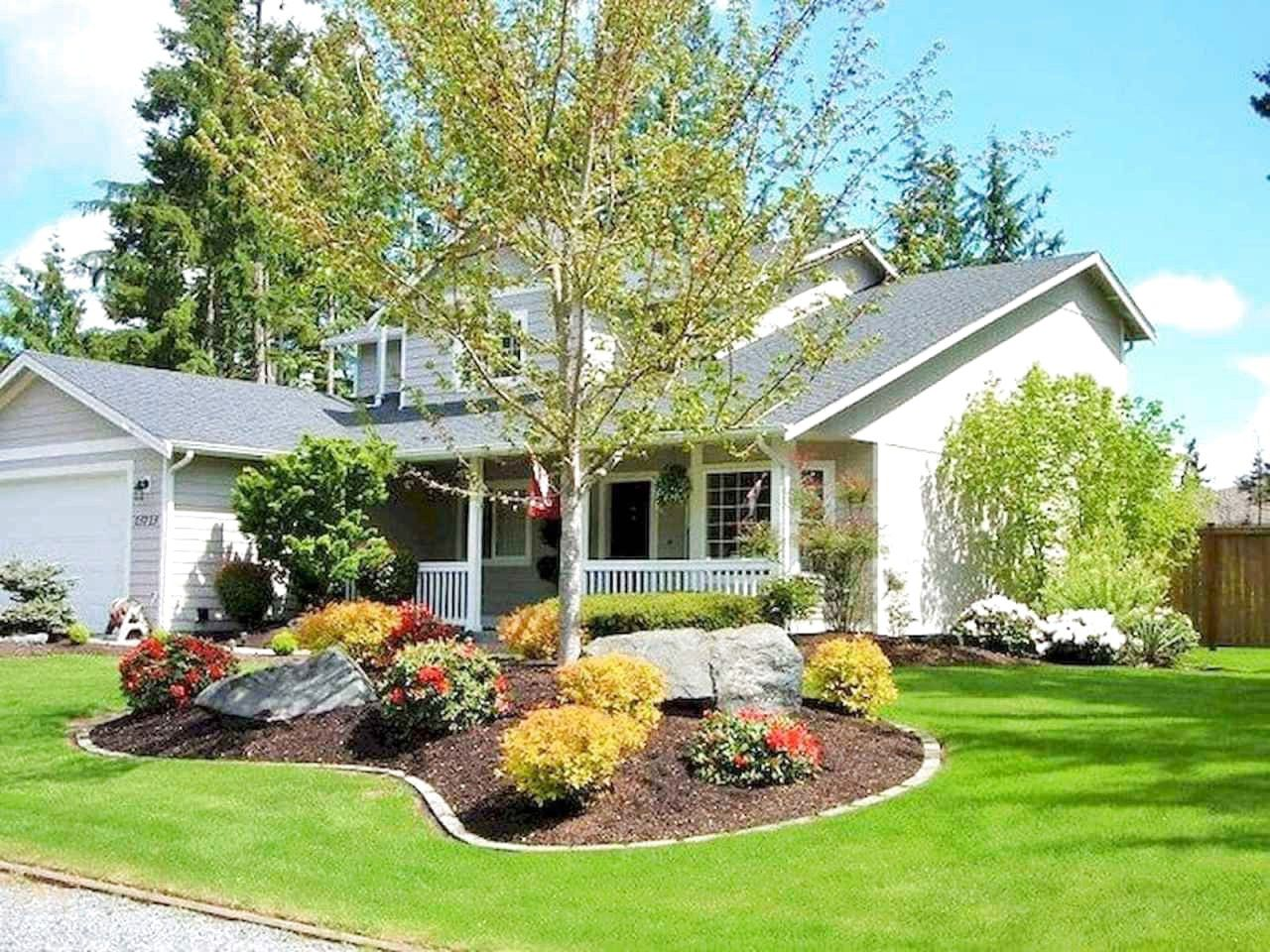 43 Best Front Yard Garden Landscaping Design Ideas And ... on Front Yard Renovation Ideas id=49679