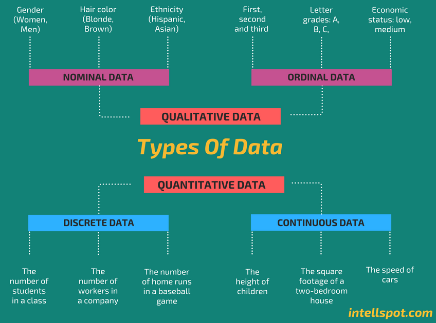 6 Types Of Data In Statistics Research Key In Data Science