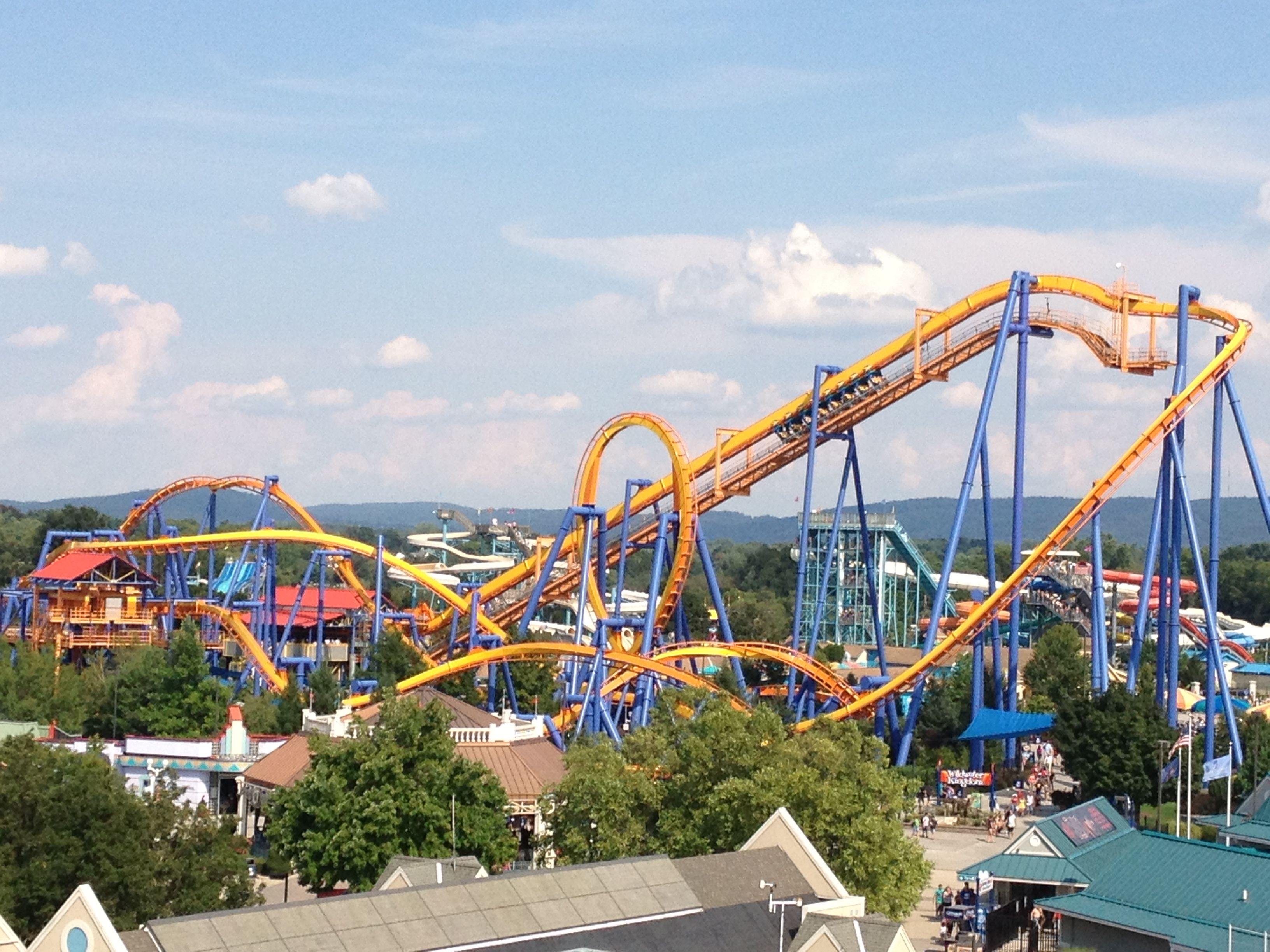 Dorney Park and Wildwater Kingdom - Great family fun near home! 20 minutes from home and have never been!
