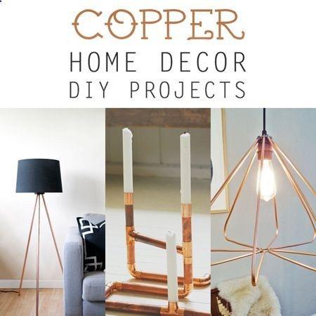DIY Copper Home Decor Projects DIY Pinterest