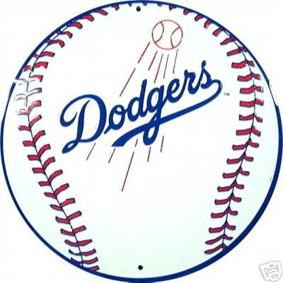 los angeles dodgers baseball logo sports sign dodgers
