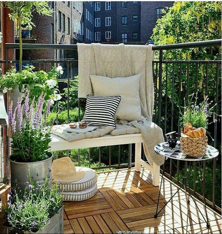 pin von carmen salerno auf decora o pinterest balkon. Black Bedroom Furniture Sets. Home Design Ideas