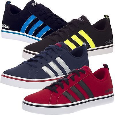 adidas men's neo pace vs low top running trainers
