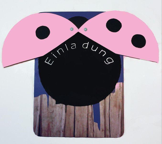 Einladungskarten   Einladung Kindergeburtstag Mädchen MARIENKÄFER   Ein  Designerstück Von Lingschmetter Bei DaWanda