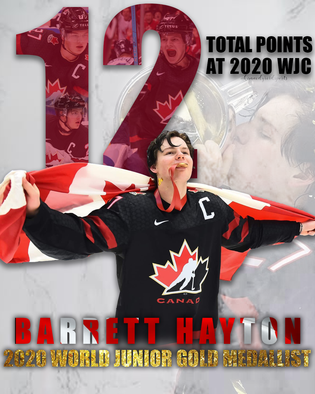 Barrett Hayton in 2020 World junior hockey, Team canada