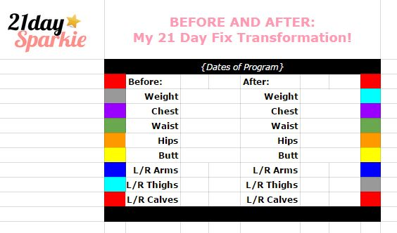 A different kind of 21 Day Fix Meal Planning Tracker from - 21 day fix spreadsheet