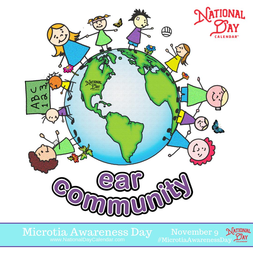 MICROTIA AWARENESS DAY November 9 National day