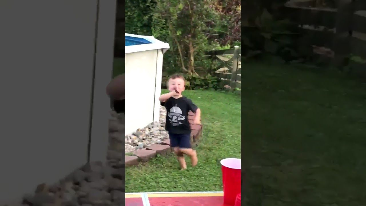 crazy kid runs around with a knife youtube funny stuff