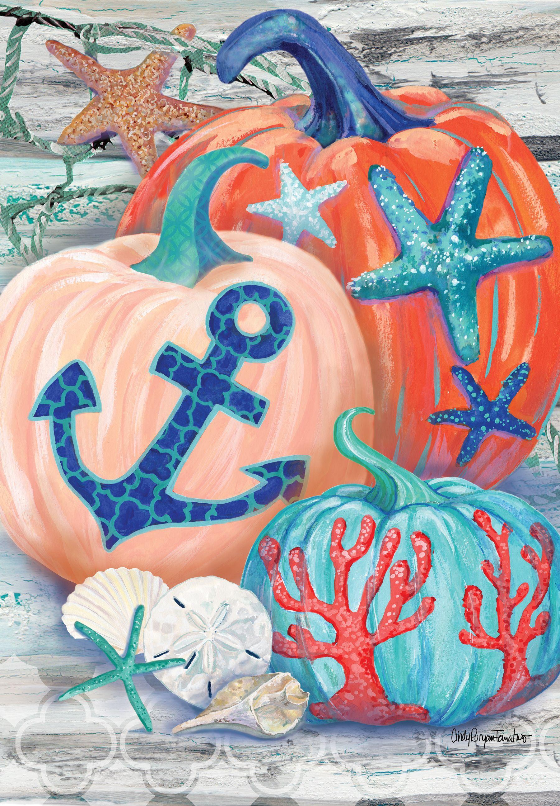 Coastal Autumn nauticalpumpkins coastalpumpkins