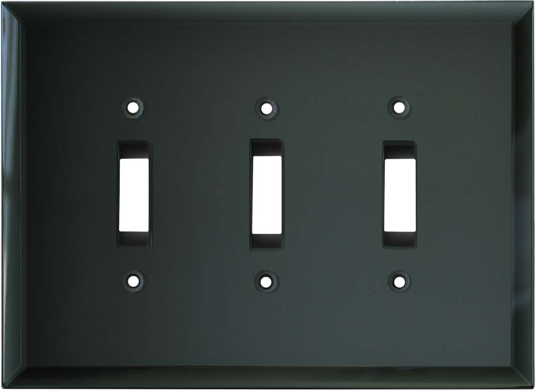 Gl Mirror Smoke Grey Switch Plates Outlet Covers Wallplates