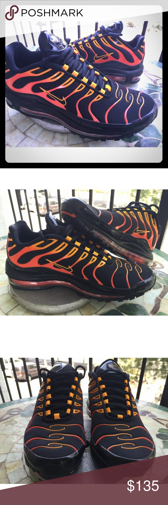 size 40 47a15 315d3 Nike Shoes | Mens Nike Air Max 97 Plus Shock Orange And ...
