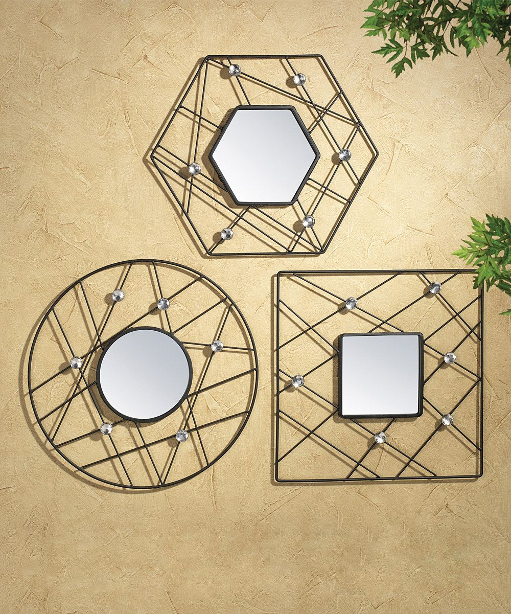 Look at this Elements by Lifetime Brands Web Jewel Mirror Set on ...