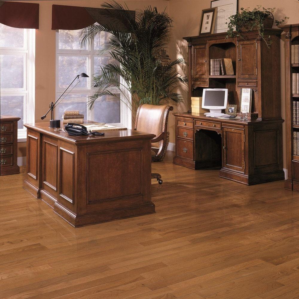 Beasley Oak Wire Brushed Vintage Solid hardwood floors