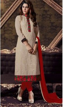 1c20eefa5f8 Pakistani Style Party Wear Stitched Dresses in Georgette Fabric and Tan  Brown  pakistani
