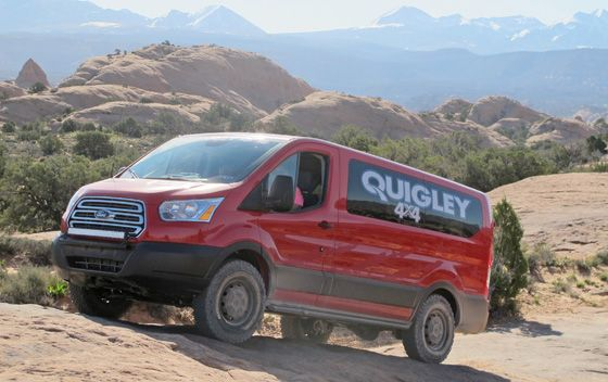 Quigley Motors Now Offers Ford Transit 4x4 Pickuptrucks Com News