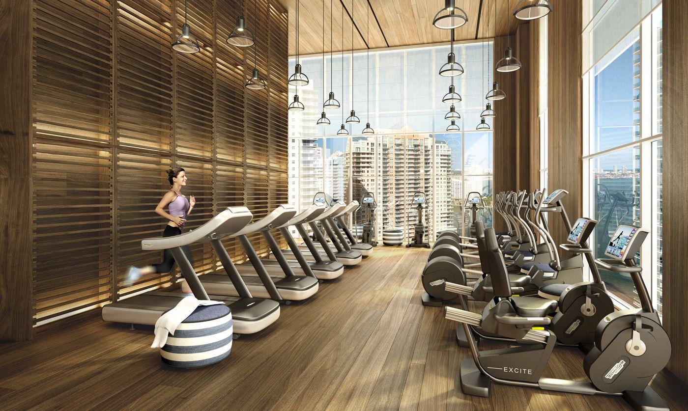 Brickellhouse Gym Interior Gym Design Gym Room