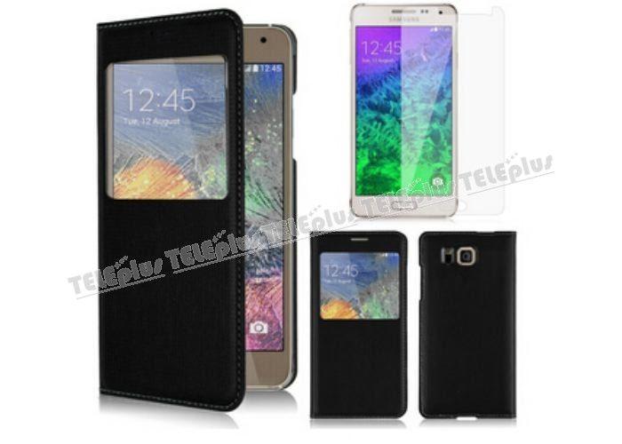 Samsung Galaxy Alpha Pencereli Kılıf Siyah -  - Price : TL29.90. Buy now at http://www.teleplus.com.tr/index.php/samsung-galaxy-alpha-pencereli-kilif-siyah.html