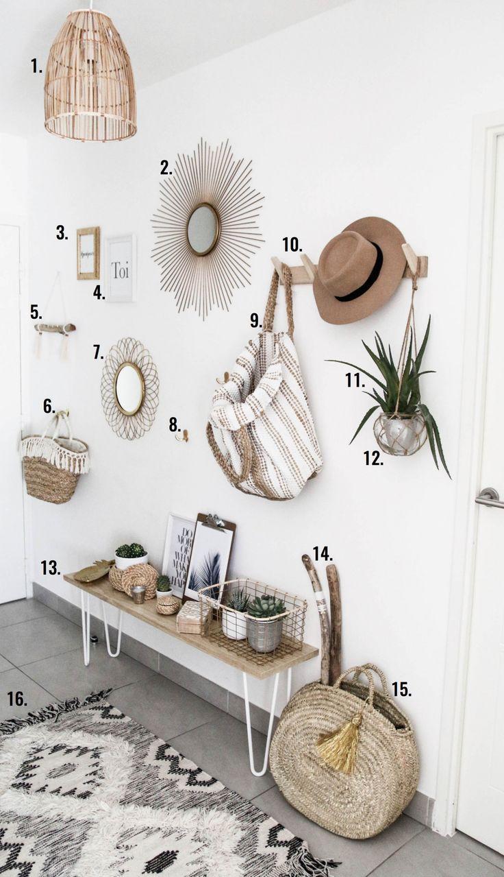 blog-mode-deco-entree-4 | Couloir et entrée | Pinterest