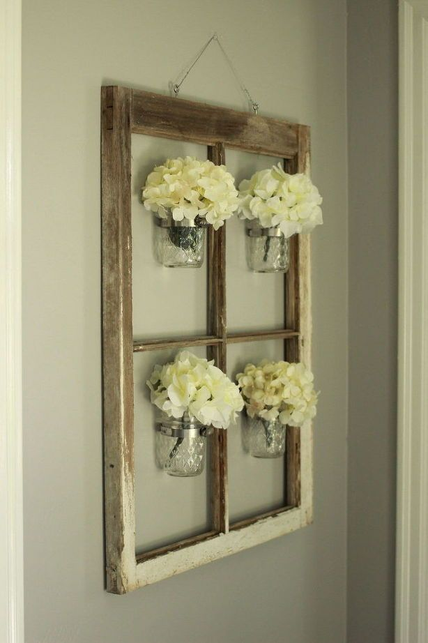 Decoration diy mason jar wall decor also and walls rh pinterest