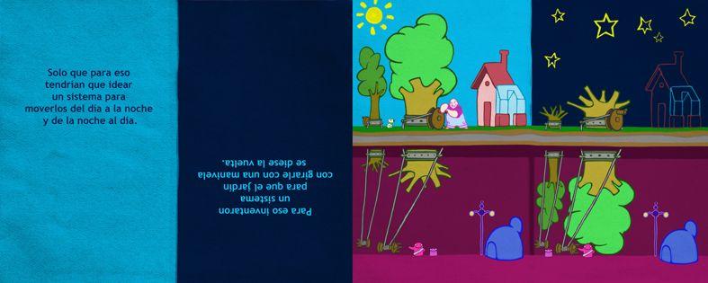 """Páginas de """"El jardín de Nicasio""""©"""