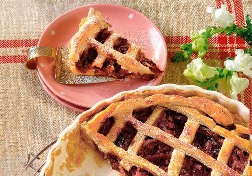 Pflaumenkuchen als Tarte mit Blätterteig - Eine luftige Variante des klassischen Pflaumenkuchens, dafür mit einem guten Schuss Portwein. Wohl bekomm