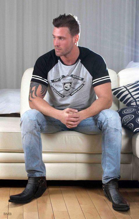 big boots! | Boots | Pinterest | Male models