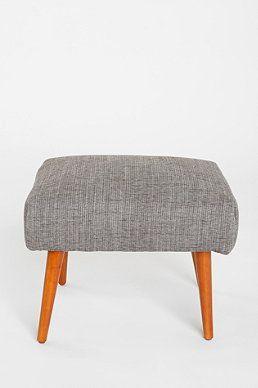 Modern Ottoman in Grey