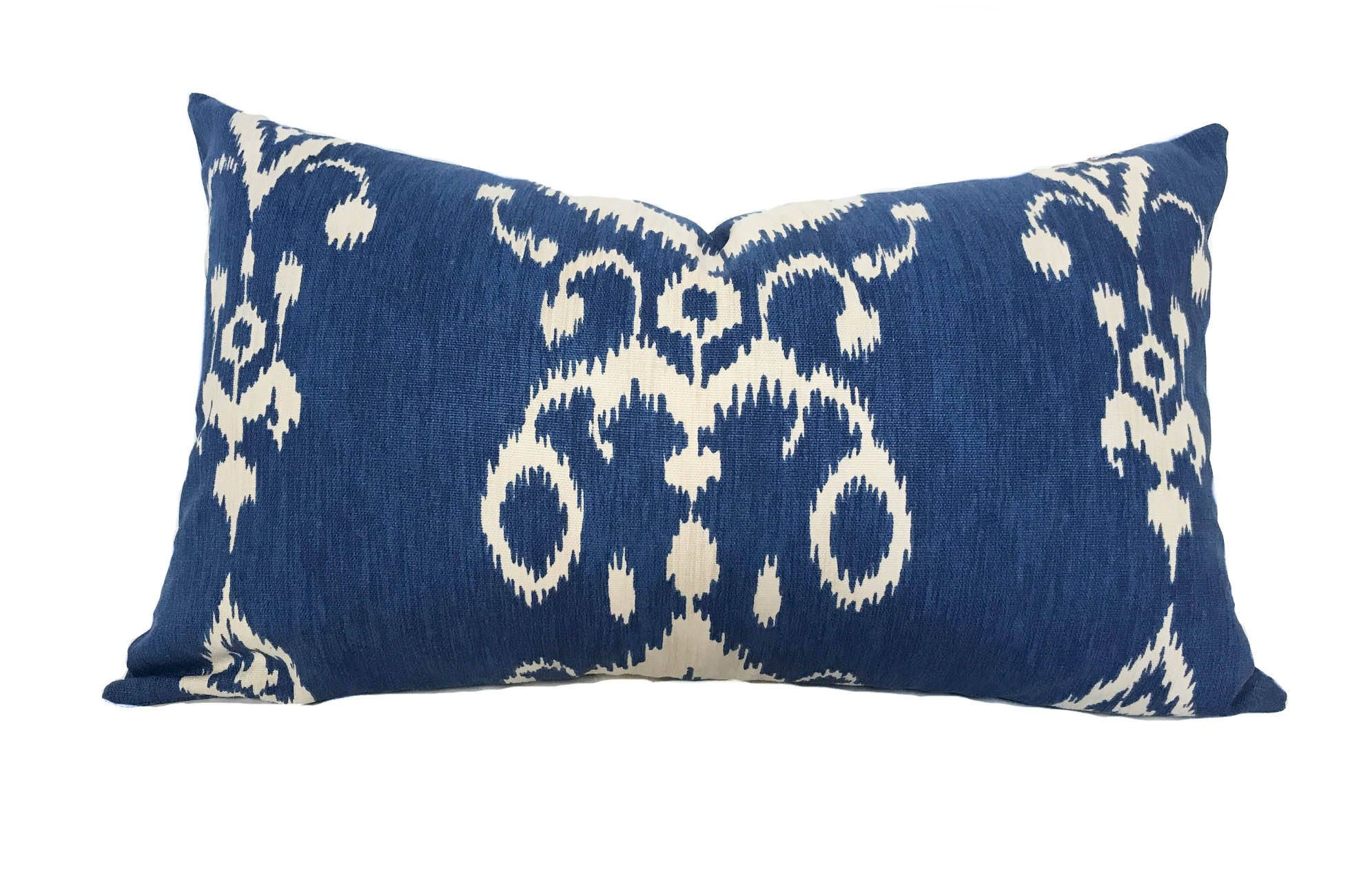 pillowcase of throw large decorative pillow pillows sham case modern blue size covers