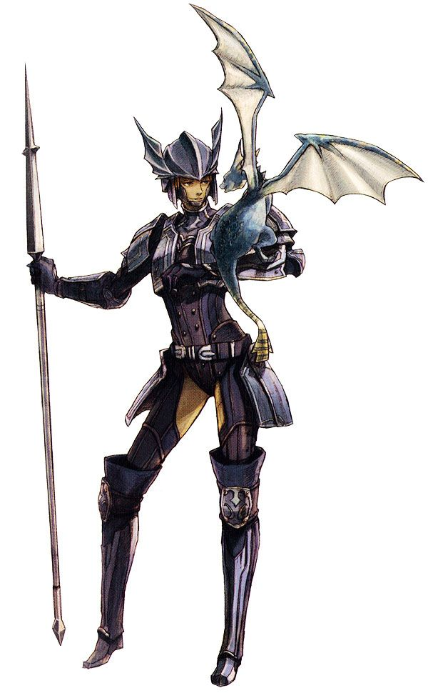 Elvaan Dragoon Characters Art Final Fantasy Xi Final