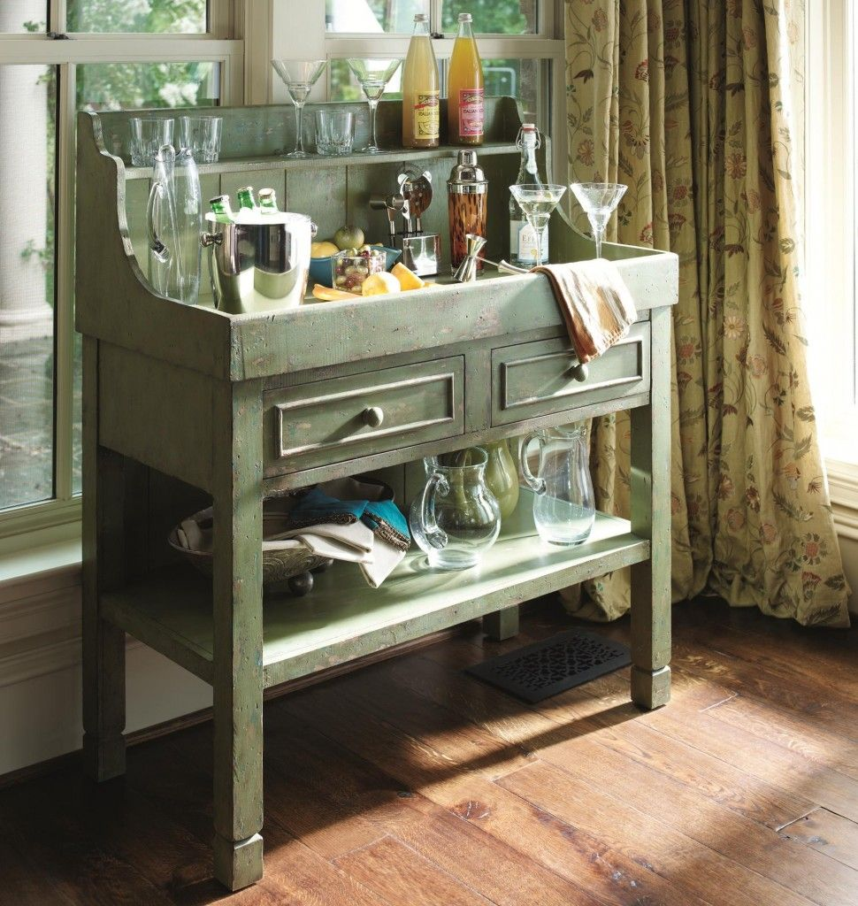 Hgtv Home Furniture Collection Green Dry Sink