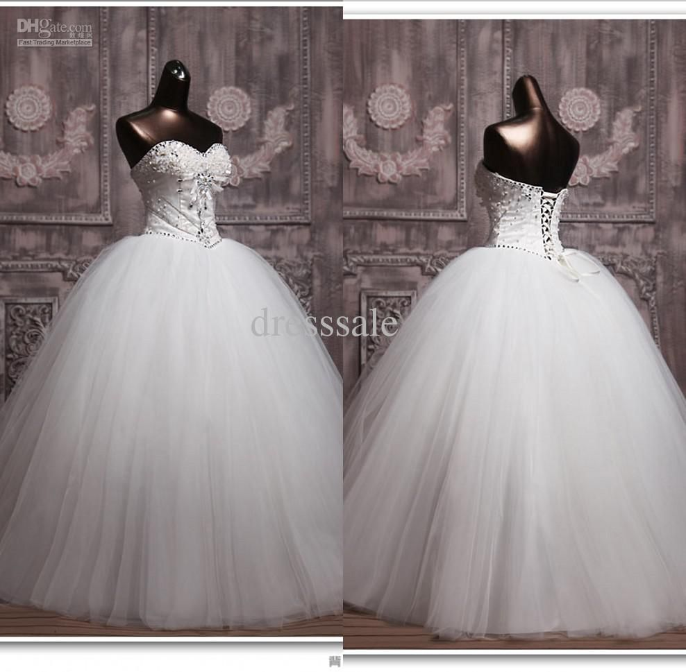 wedding dress from castle | wedding-dresses-ball-gown-with-blingbuy ...