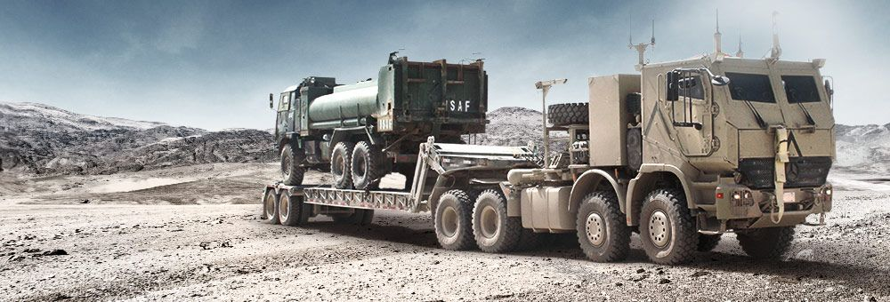 Mercedes benz actros tractor military pinterest for Mercedes benz military vehicles