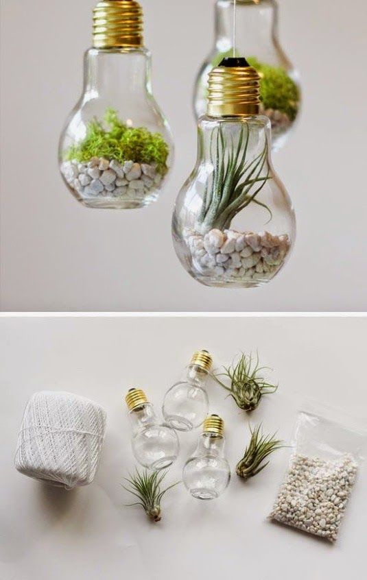 Photo of DIY projects with old light bulbs – 25 creative craft ideas