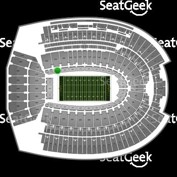 Ohio Stadium 27 Aa View Seating Rows Seatgeek Ohio State Buckeyes Football Ohio Stadium Ohio State Buckeyes