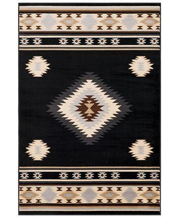 Surya Paramount PAR-1095 Black 2' x 3' Area Rug  Reviews - Rugs - Macy's