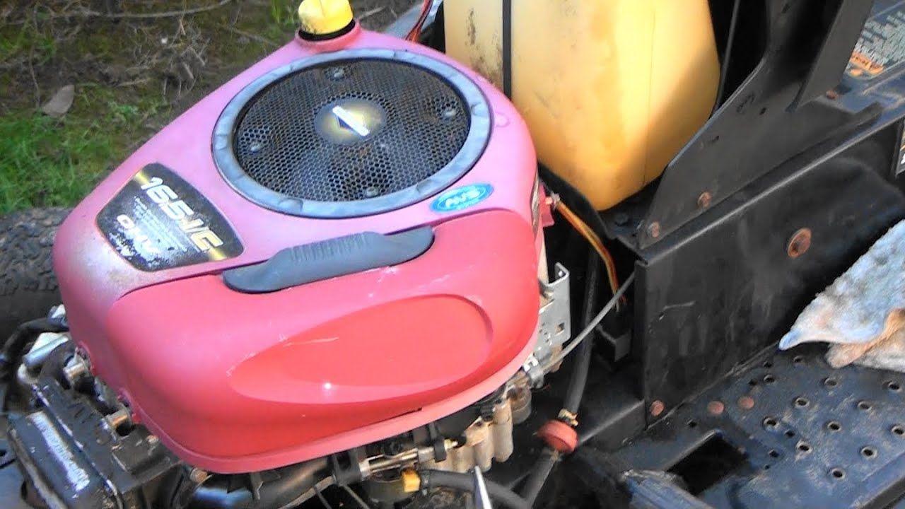 Briggs and Stratton INTEK OHV Engine CARBURETOR REBUILD