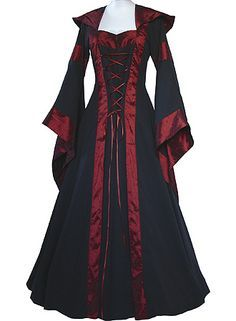 medievalblack and gold wedding dresses and veils - Google Search