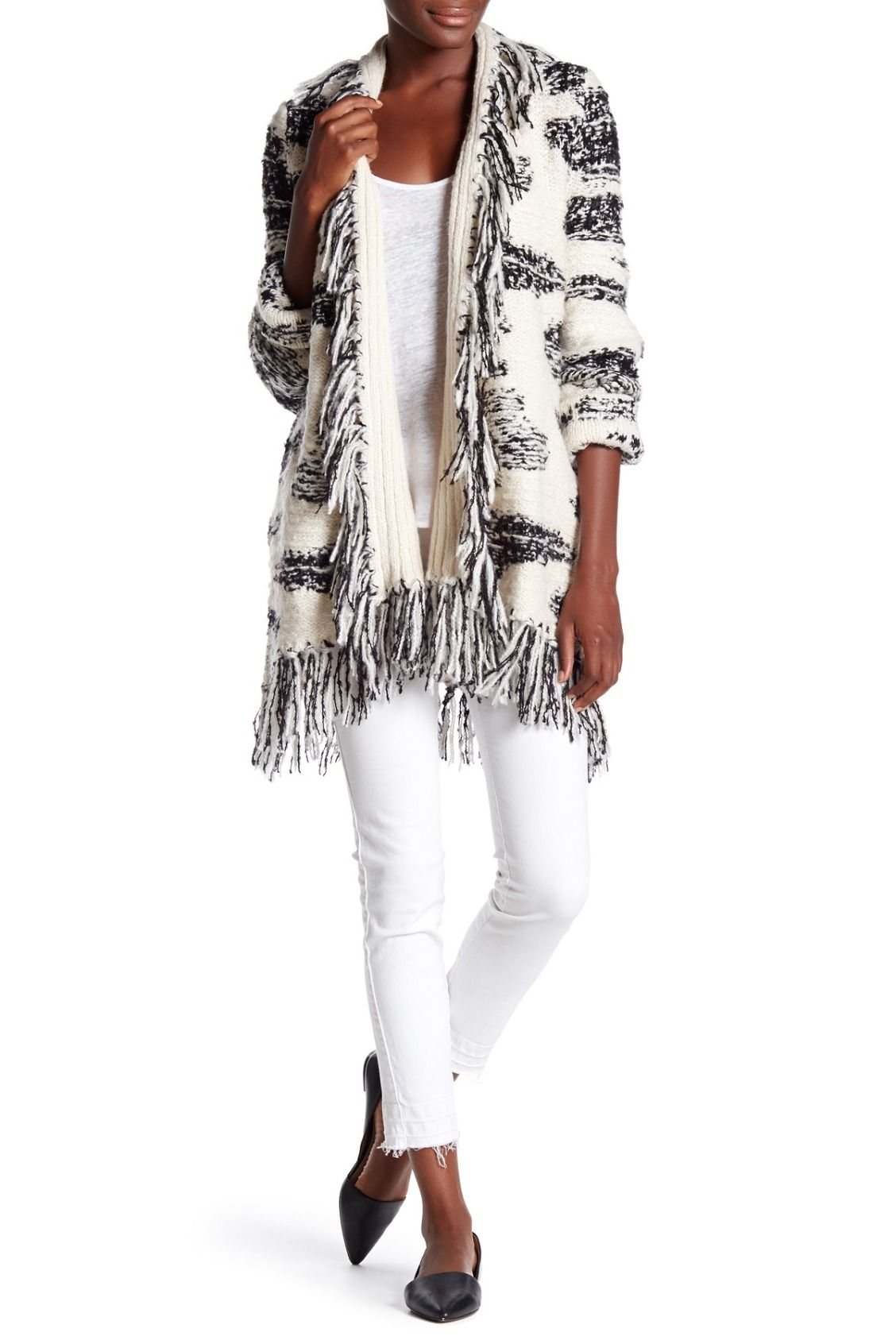 Love this LAmade Lucy Fringe Cardigan