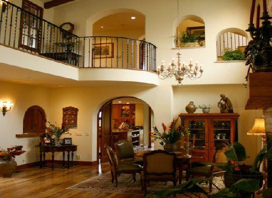 Spanish style house plans with interior photos google - Home interior decoration ideas ...