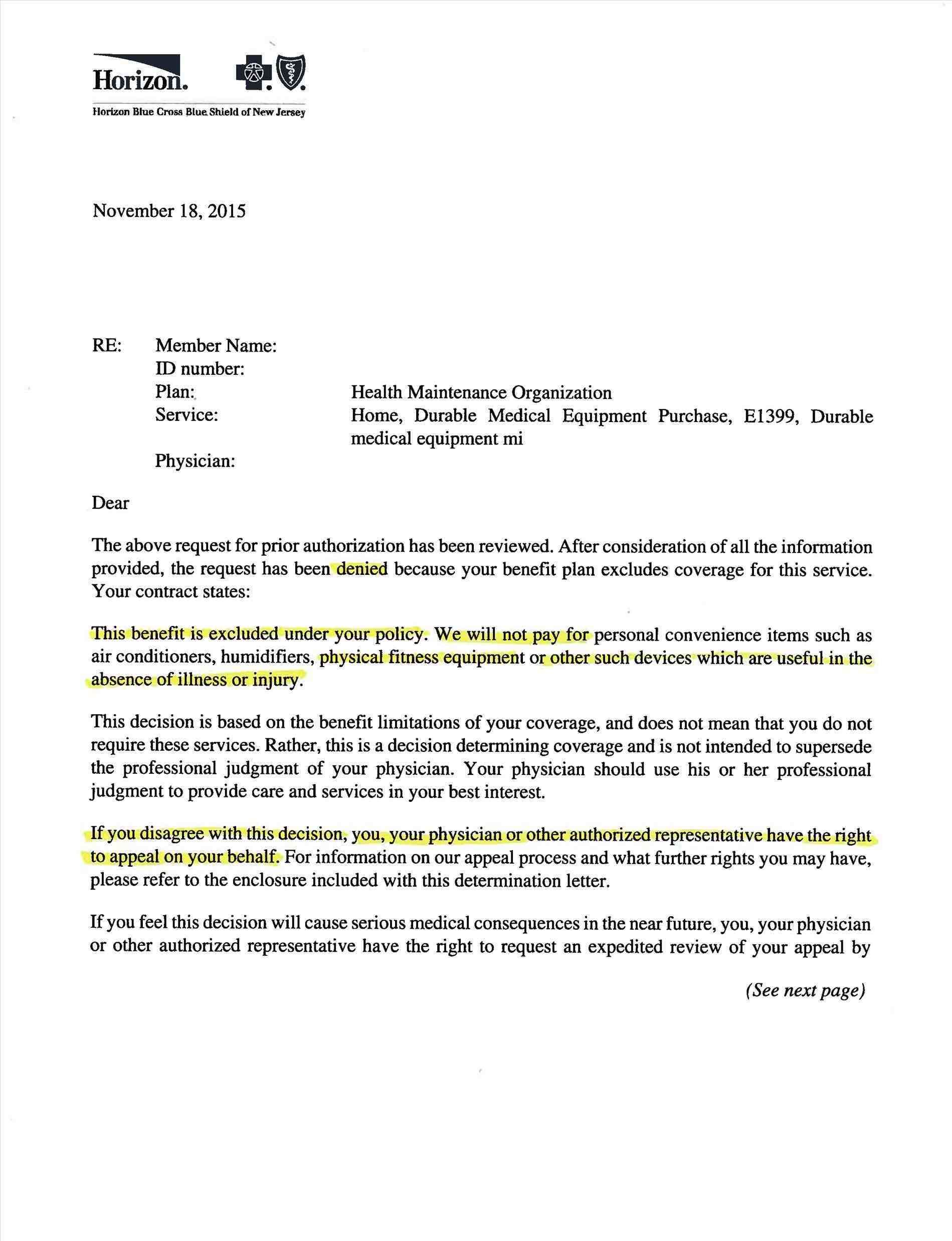 Letter Of Medical Necessity Template | Free Tamplate | Letter