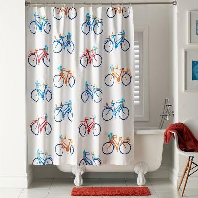 joy ride shower curtain shower