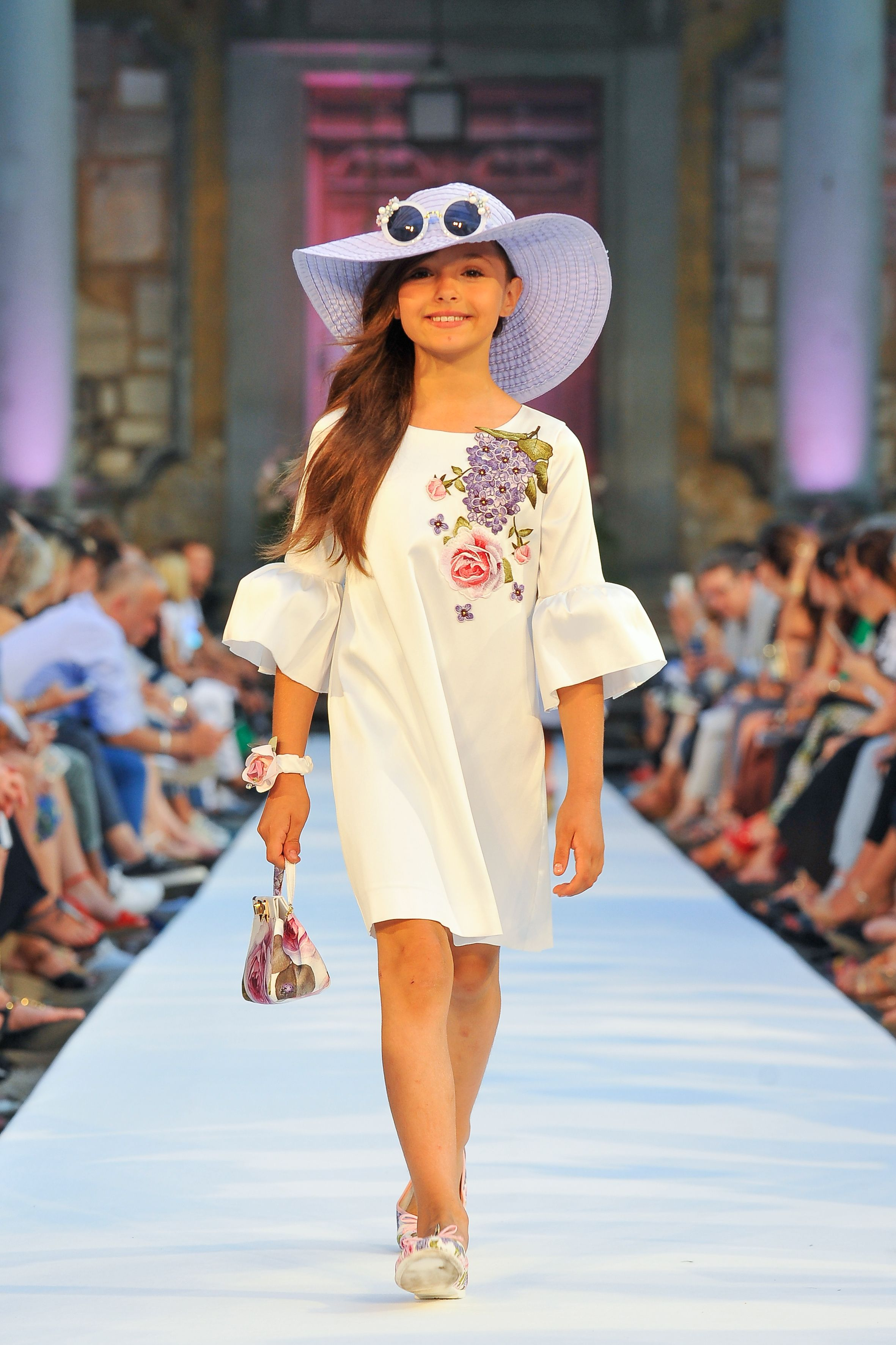 Monnalisa spring summer fashion show runway monnalisa