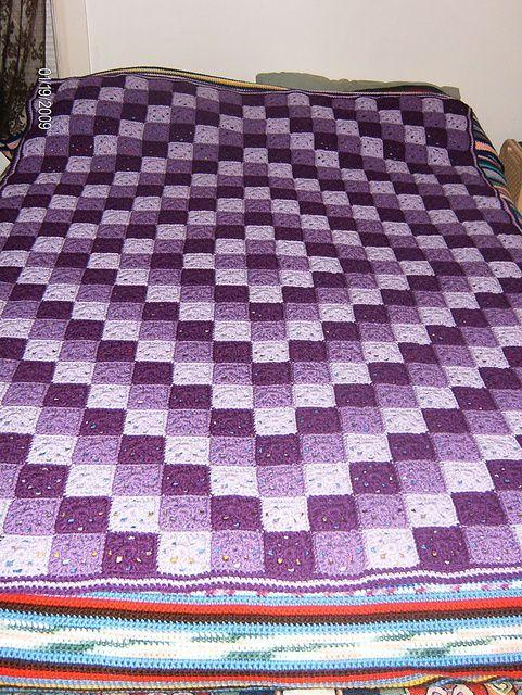 Ravelry: Around the World Crochet Quilt pattern by Karen Buhr ... : crochet quilt pattern - Adamdwight.com