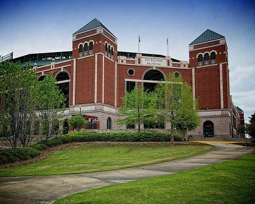 Arlington Tx The Ballpark Old Fort Arlington Dallas Fort Worth